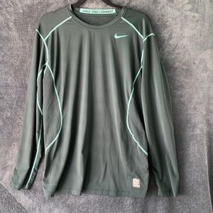 Nike Shirts - Nike pro combat sports shirt